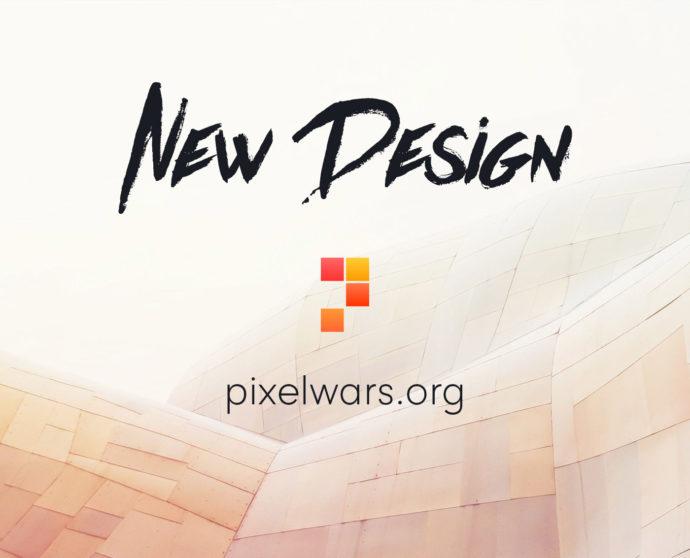 pixelwars.org new design